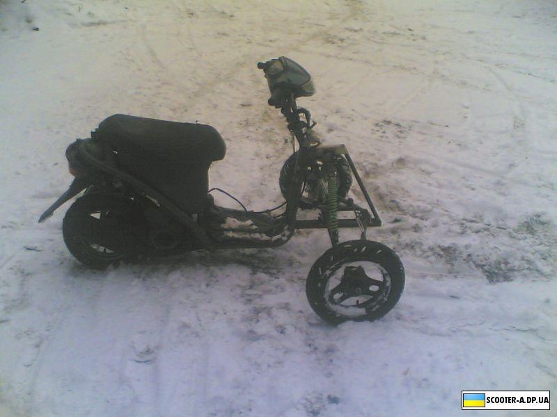 Что можно сделать на скутер своими руками